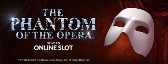 Ninja Casino vinn resa spela the phantom of the Opera