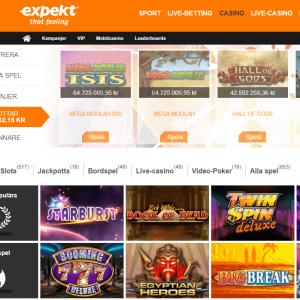 Expekt startsida casino